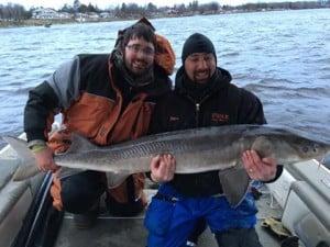 Charlie Borak 66 inch sturgeon! (released)