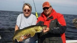 Kenny Hopp with 30 inch walleye